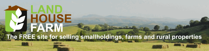 The FREE site for selling smallholdings, farms and rural properties